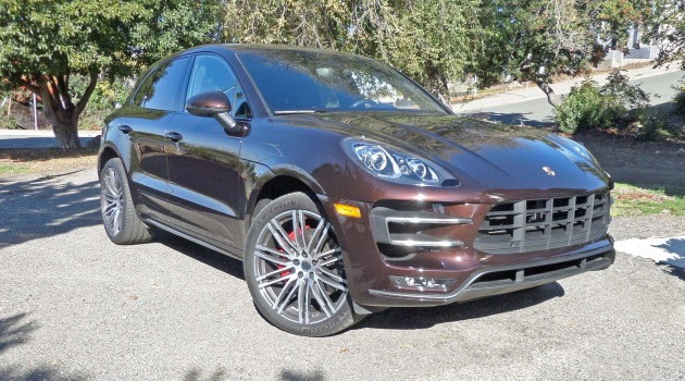 2015 Porsche Macan Turbo Test Drive