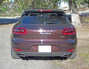 Porsche Macan Turbo Tail