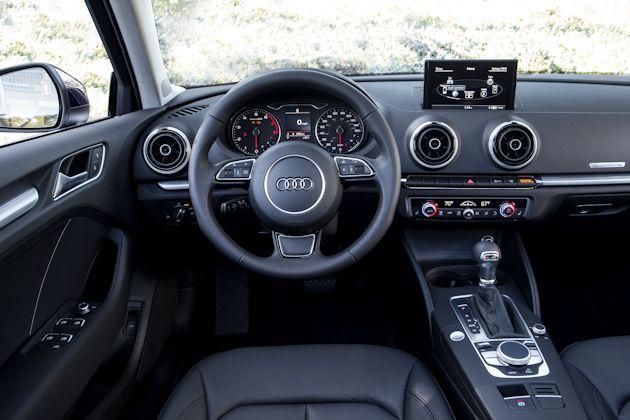 2015 Audi A3 TDI dash