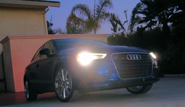 2015 Audi A3 TDI front lights