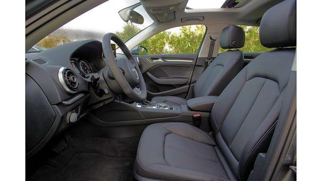 2015 Audi A3 TDI interior