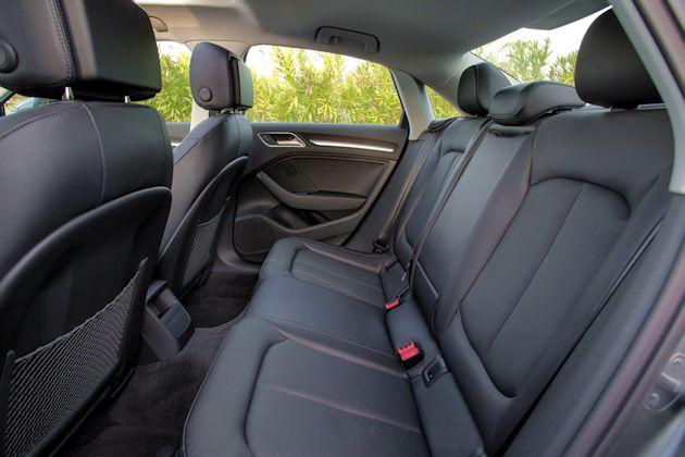 2015 Audi A3 TDI rear seat