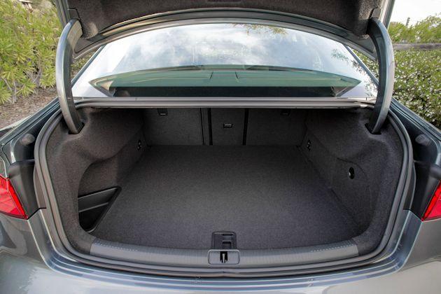 2015 Audi A3 TDI trunk