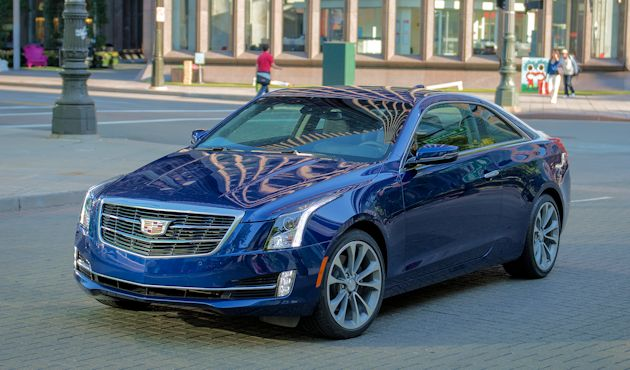2015 Cadillac ATS Coupe front
