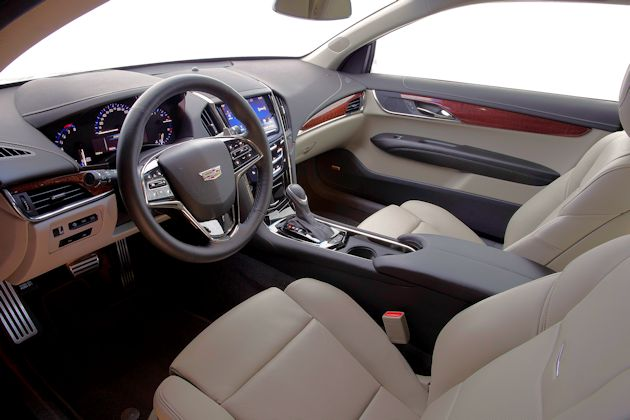 2015 Cadillac ATS Coupe interior