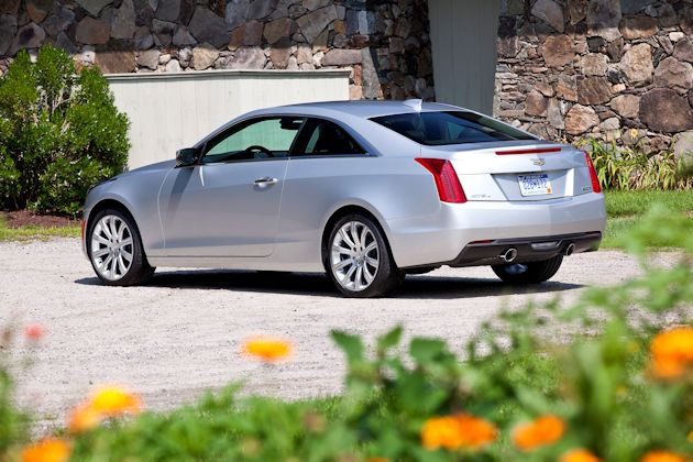 2015 Cadillac ATS Coupe rear q