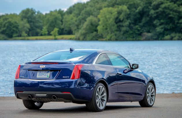 2015 Cadillac ATS Coupe rear