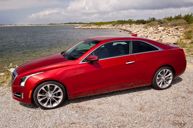 2015 Cadillac ATS Coupe side