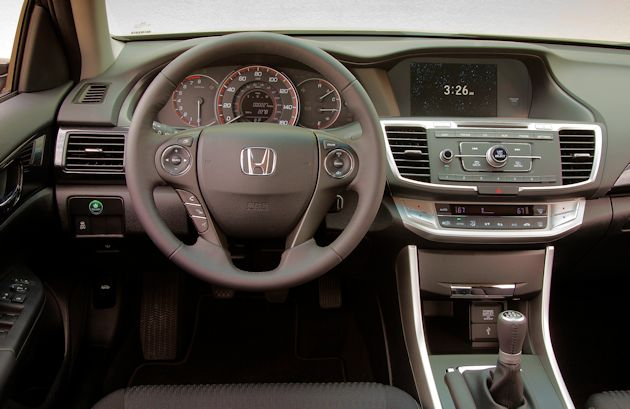 2015 Honda Accord Sport dash