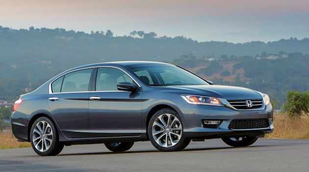 2015 Honda Accord Sport side