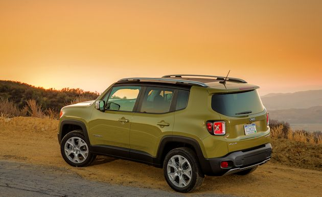 2015 Jeep Renegade rear q