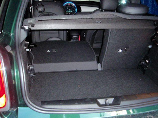 2015 Mini Cooper S cargo