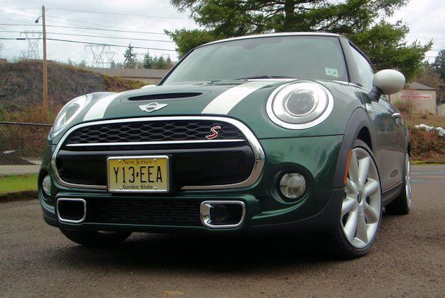 2015 Mini Cooper S front