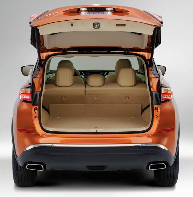 2015 Nissan Murano cargo