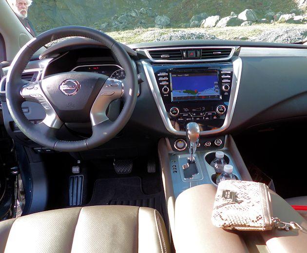 2015 Nissan Murano dash