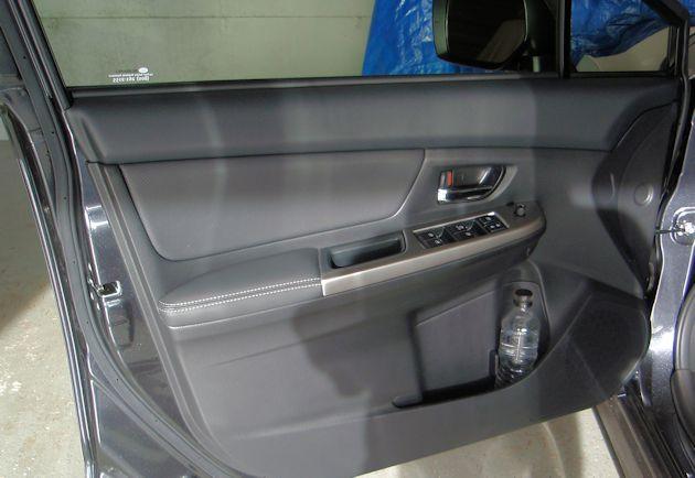 2015 Subaru Impreza Sport door panel