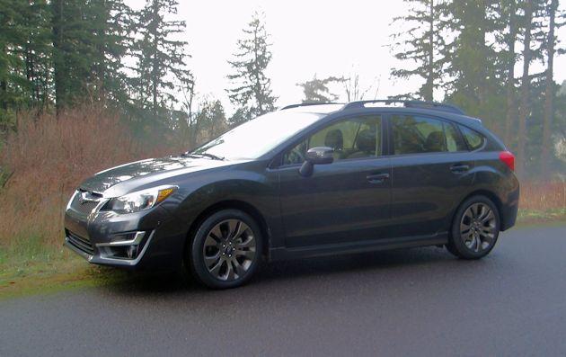 2015 Subaru Impreza Sport front q