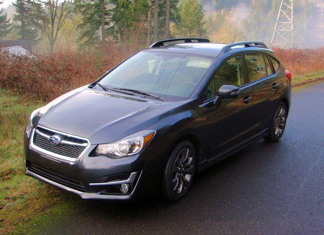 2015 Subaru Impreza Sport front