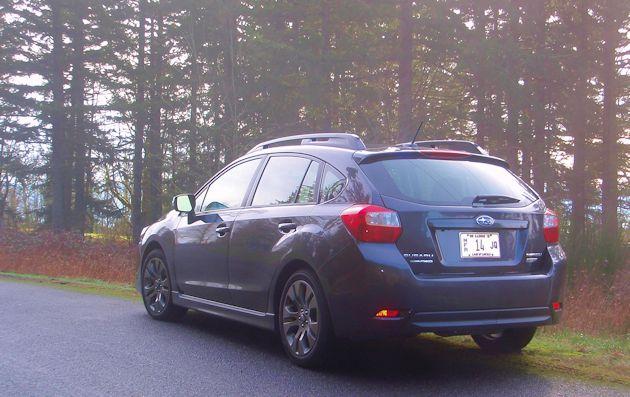 2015 Subaru Impreza Sport rear