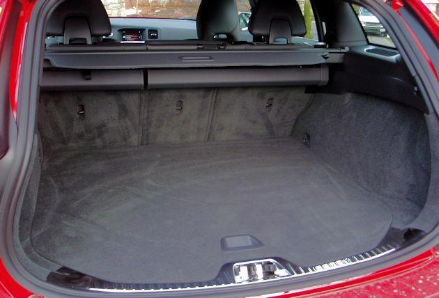 2015.5 Volvo V60 T6 cargo
