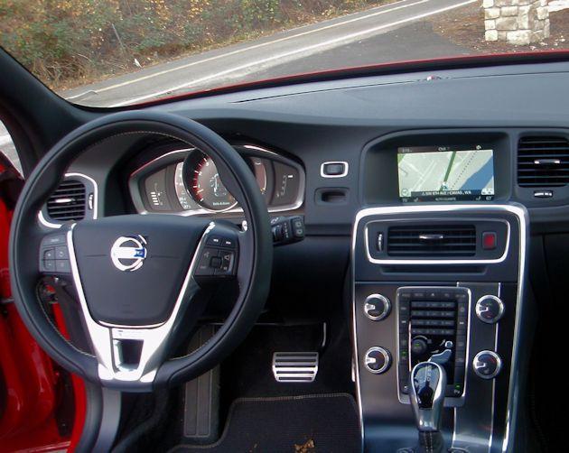 2015.5 Volvo V60 T6 dash