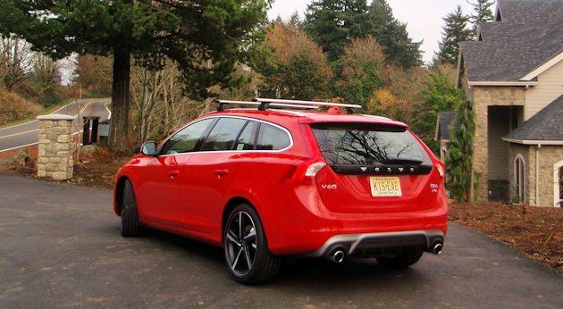 2015.5 Volvo V60 T6 rear