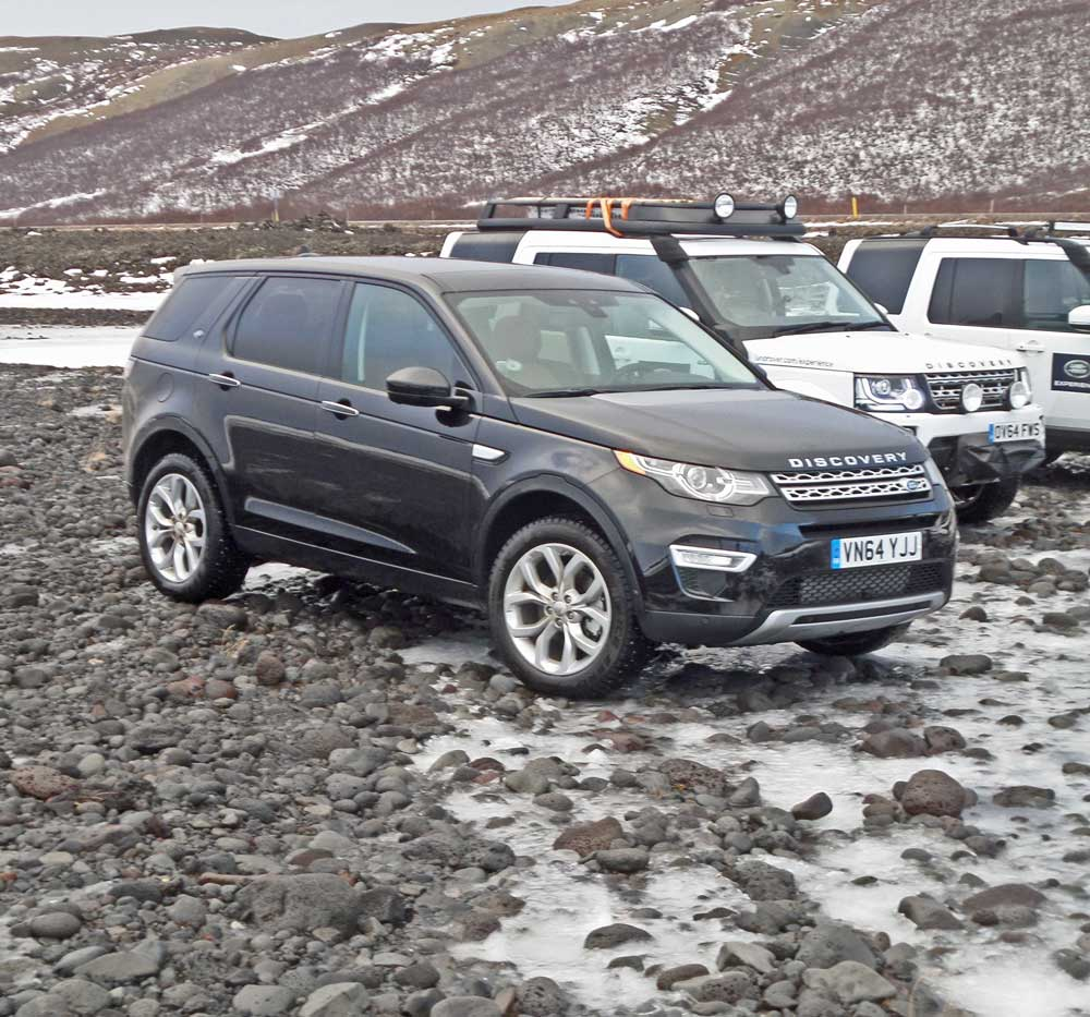 Review 2015 Range Rover Sport Hse: 2015 Land Rover Discovery Sport HSE LUX Test Drive
