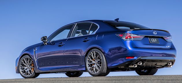 2015 Chicago - Lexus GS F