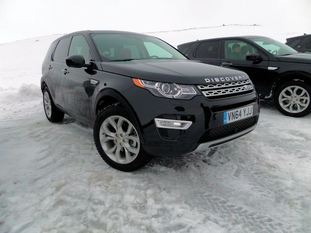 2015 Land Rover Discover Sport front