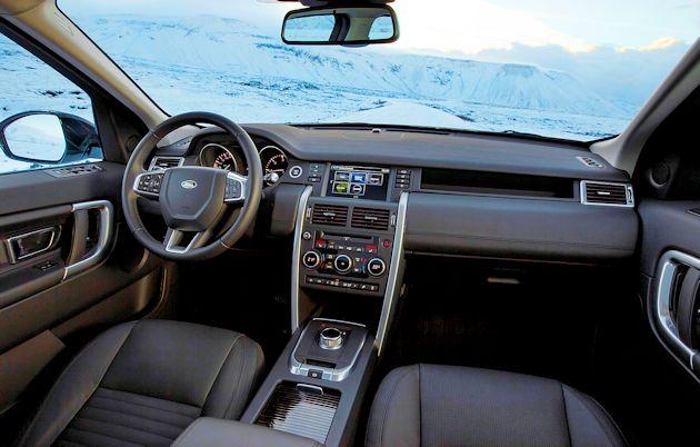 2015 Land Rover Discover Sport interior 2