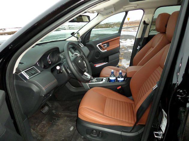 2015 Land Rover Discover Sport interior