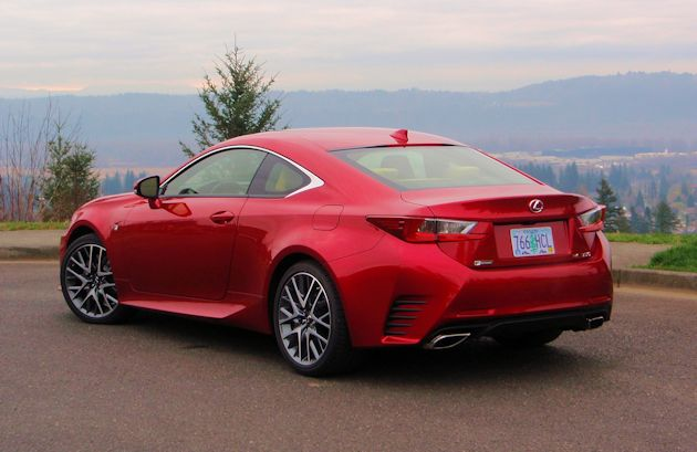 2015 Lexus RC 350 rear q2
