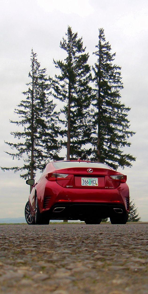 2015 Lexus RC 350 rear