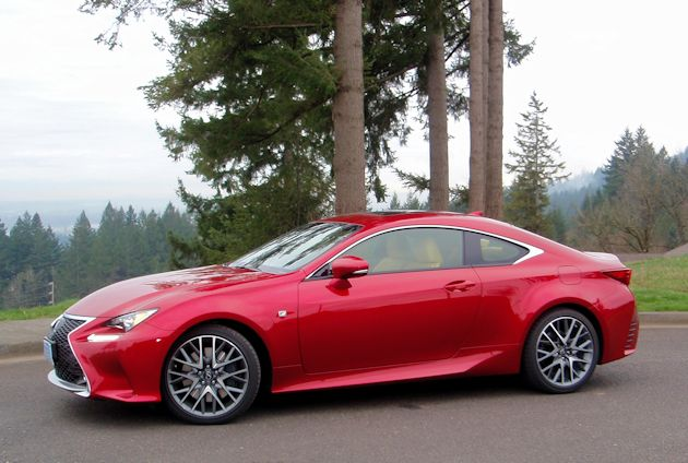 2015 Lexus RC 350 side