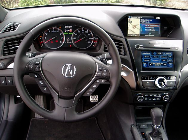 2016 Acura ILX dash