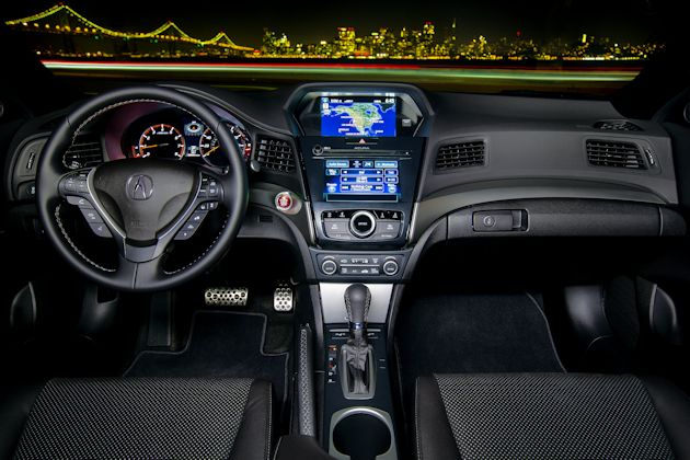 2016 Acura ILX interior nite