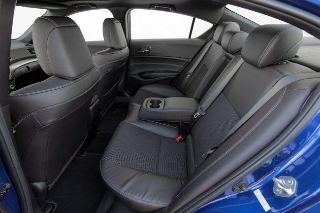 2016 Acura ILX rear seat