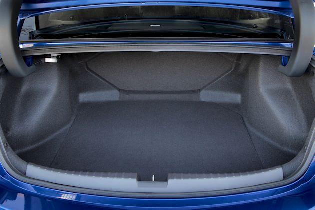 2016 Acura ILX trunk