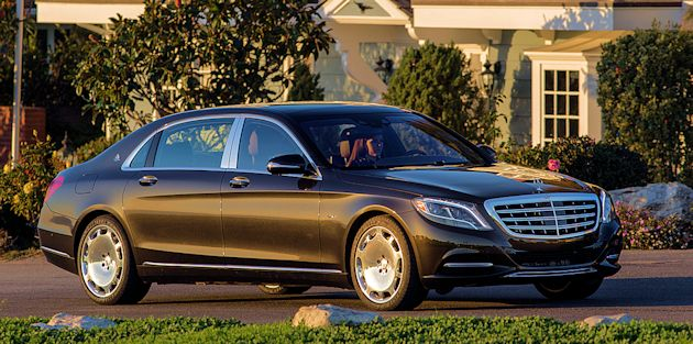 2016 Chicago - Mercedes Maybach