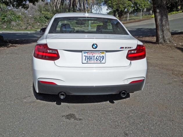 BMW M235i Tail