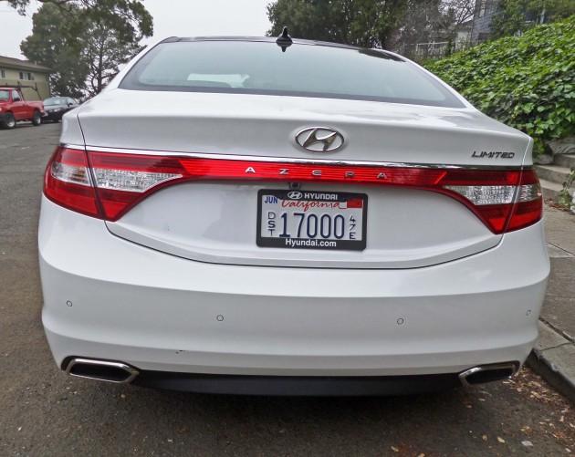 Hyundai Azera Tail