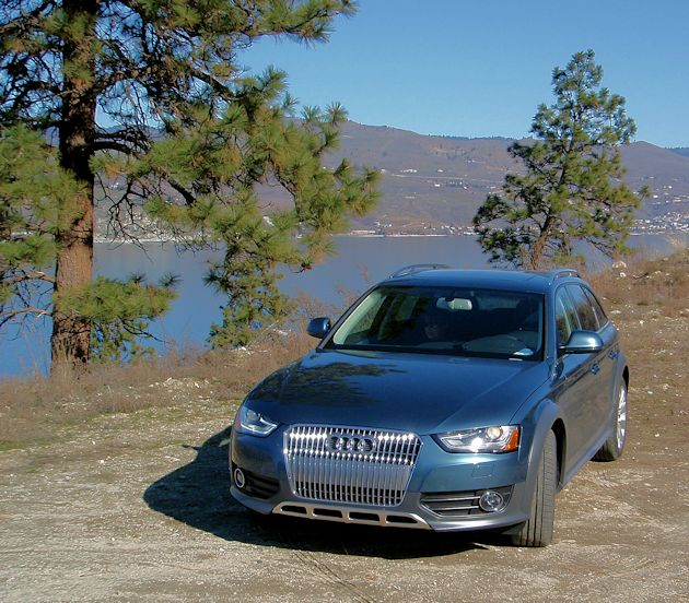 2015 Audi Allroad front end