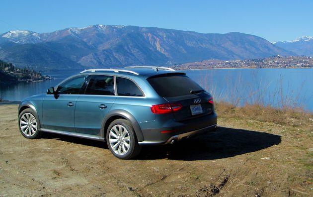 2015 Audi Allroad rear q 2
