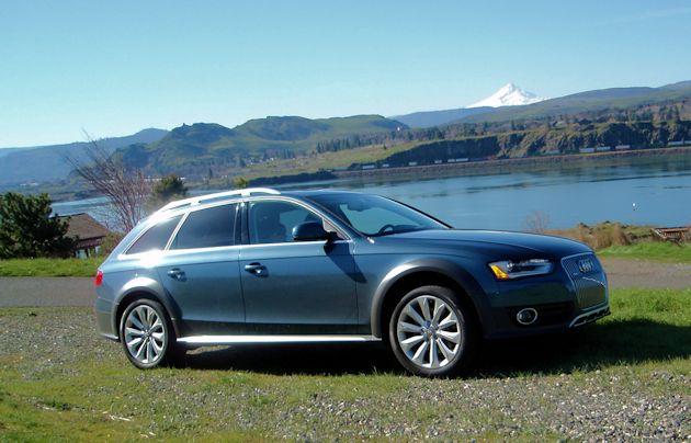 2015 Audi Allroad side