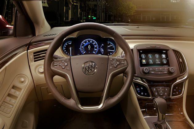 2015 Buick LaCrosse dash