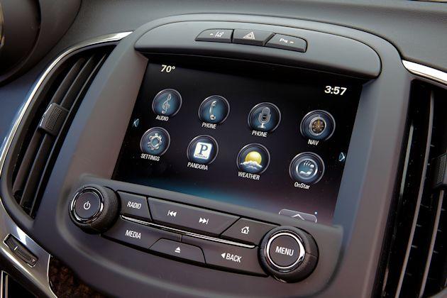 2015 Buick LaCrosse screen
