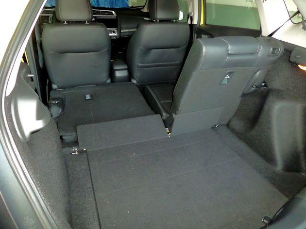 2015 Honda Fit cargo