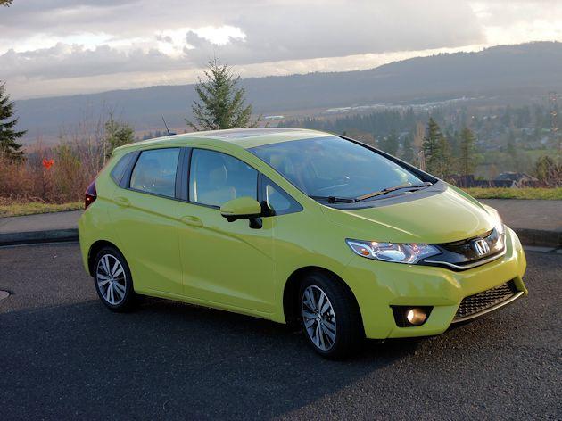 2015 Honda Fit front