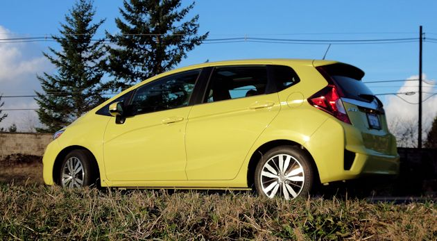 2015 Honda Fit side