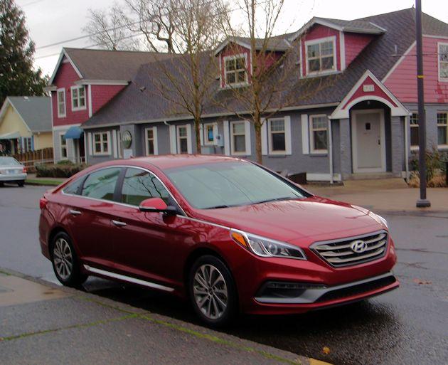 2015 Hyundai Sonata front q